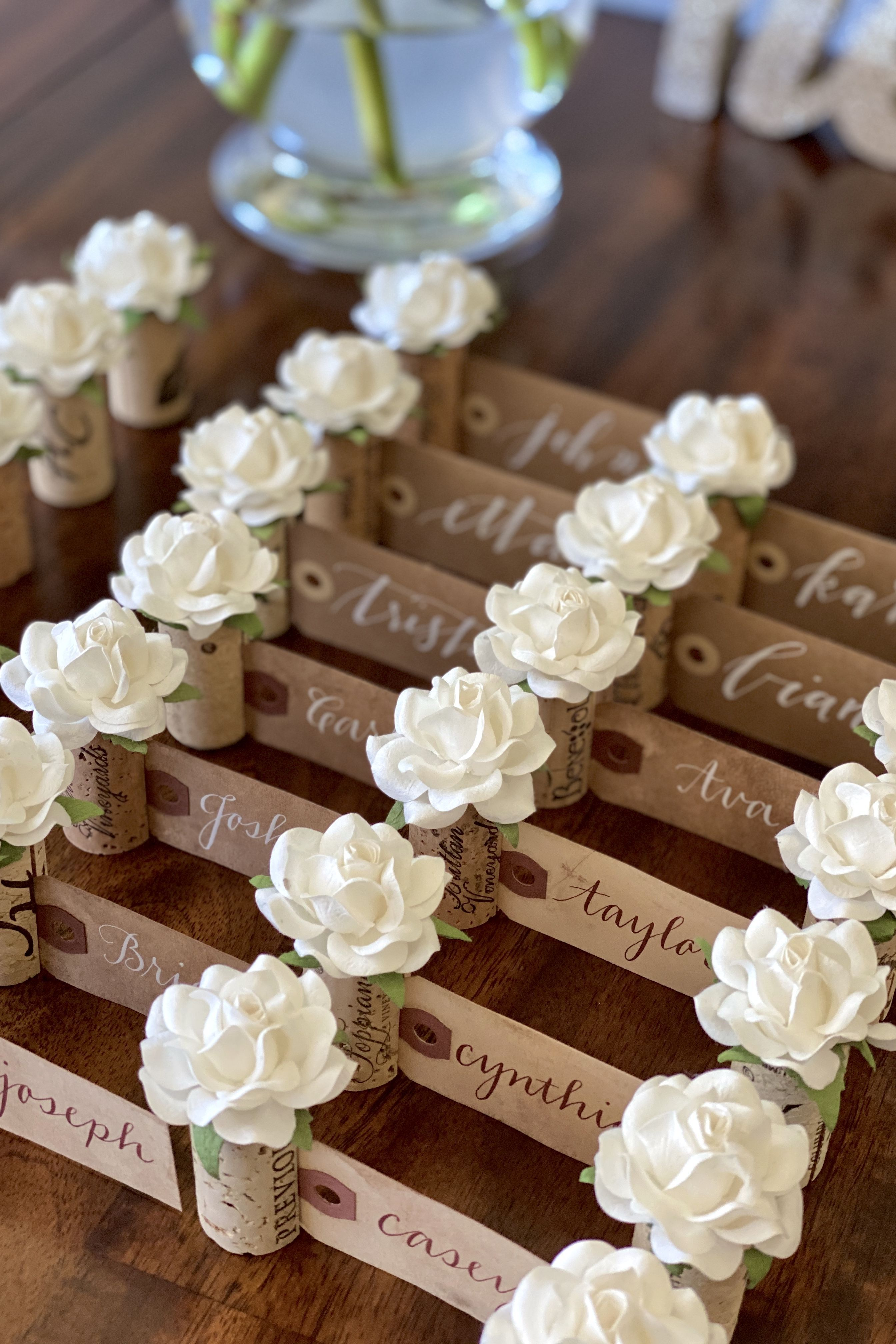 Wedding Place Card Holder  Place card holders wedding, Place card