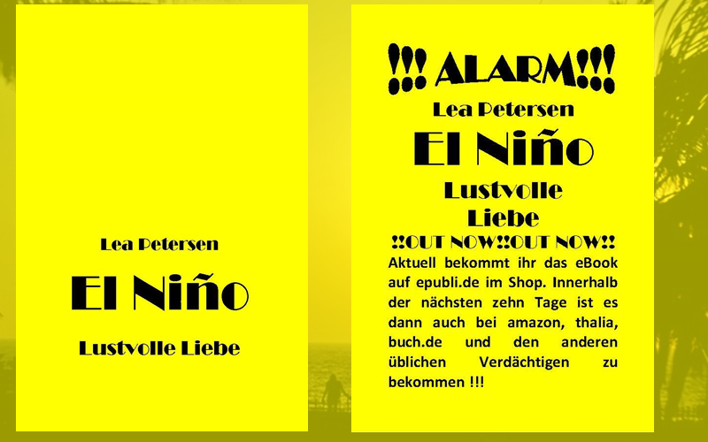 "Leserattes Bücherwelt: [Rezension]"" El Nino-Lustvolle Liebe"" Lea Petersen..."