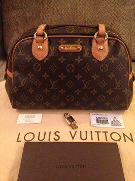 Louis Vuitton Monty Pm Monogram Bag - Satchel.