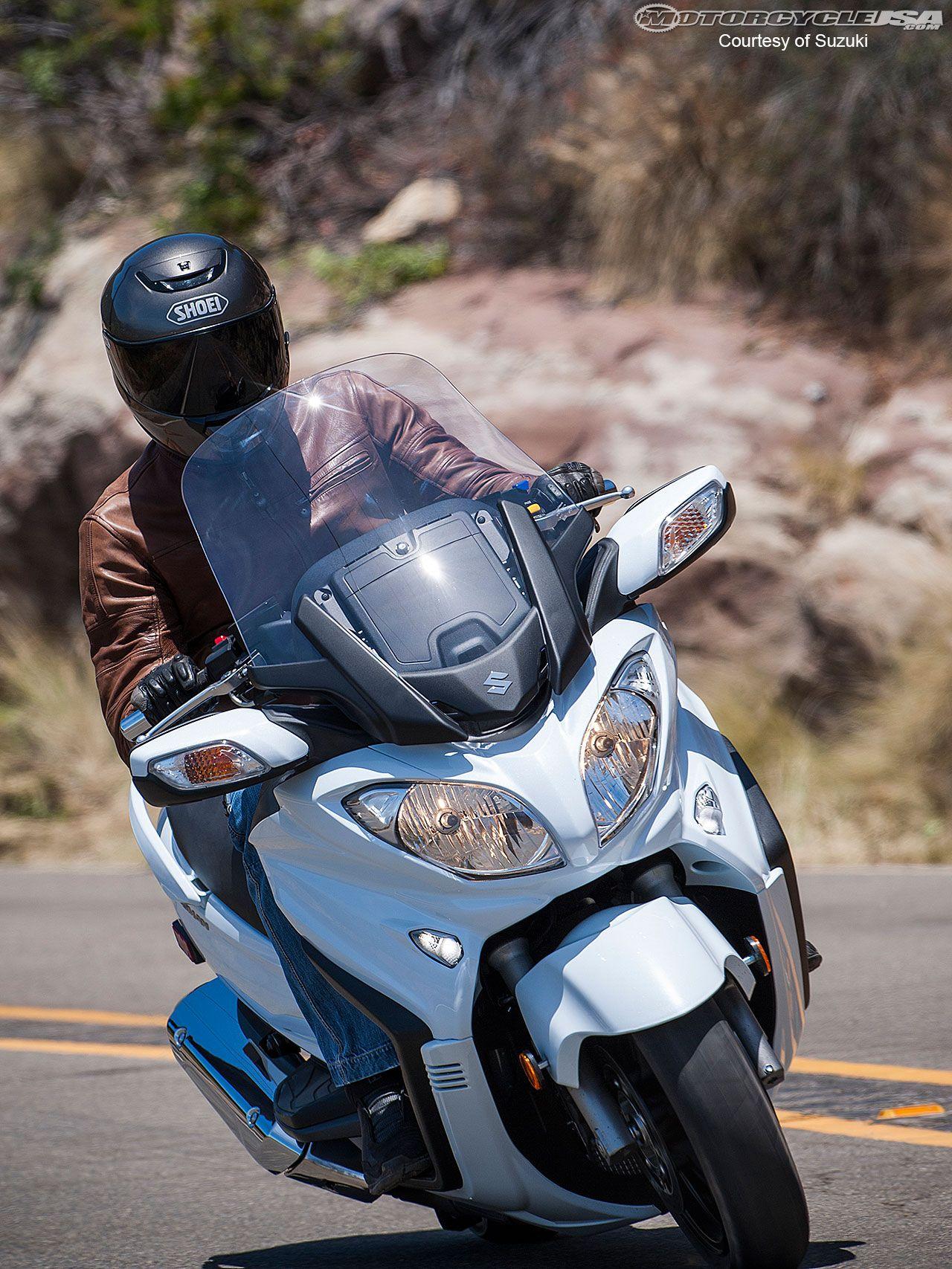 2013 Suzuki Burgman 650 ABS First Ride Photos Motorcycle
