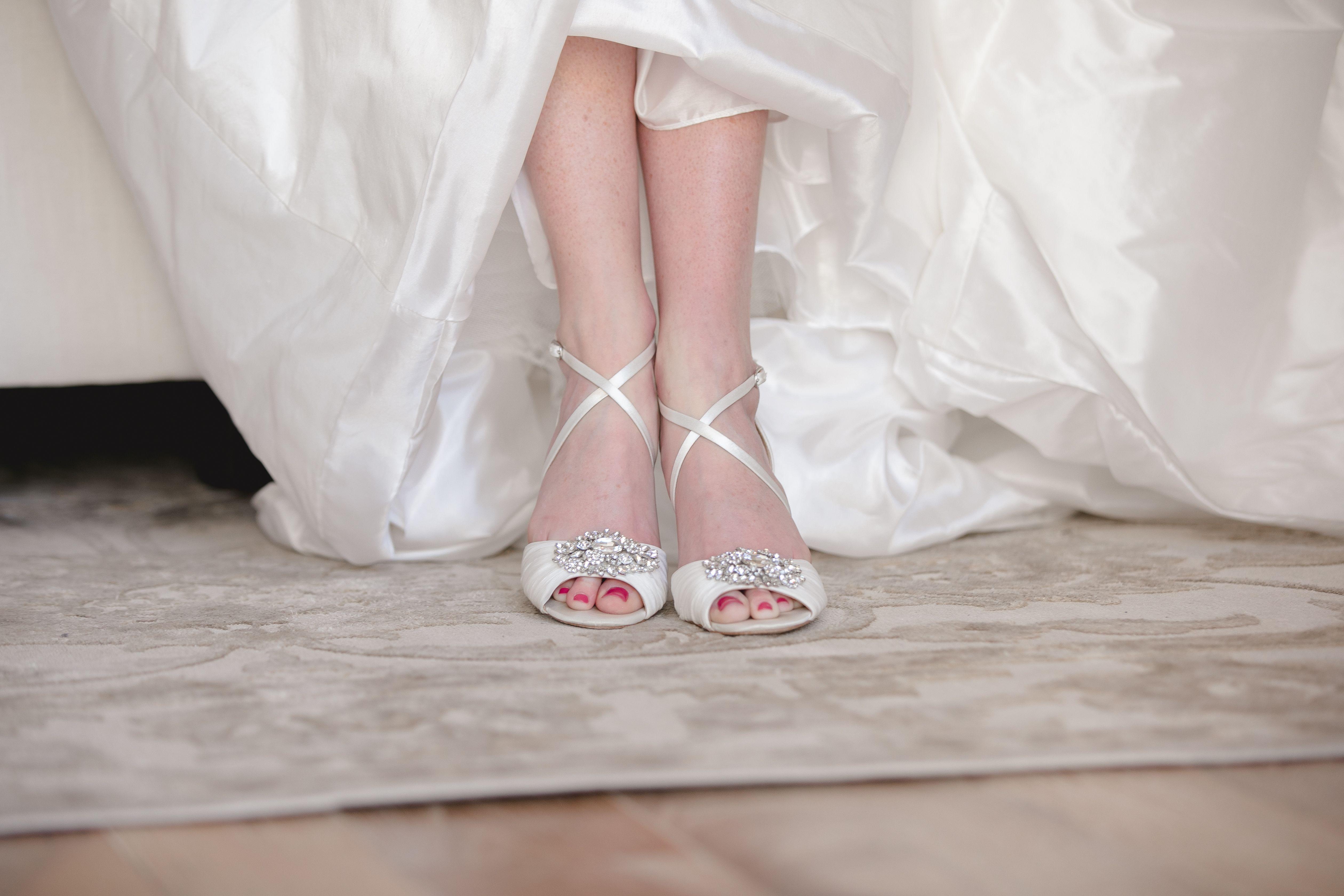 Wedding Day Shoes Bridal Shoes Wedding Dress Ideas Wedding Day
