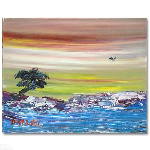 Rolling Waves - new certificate of authenticity painting