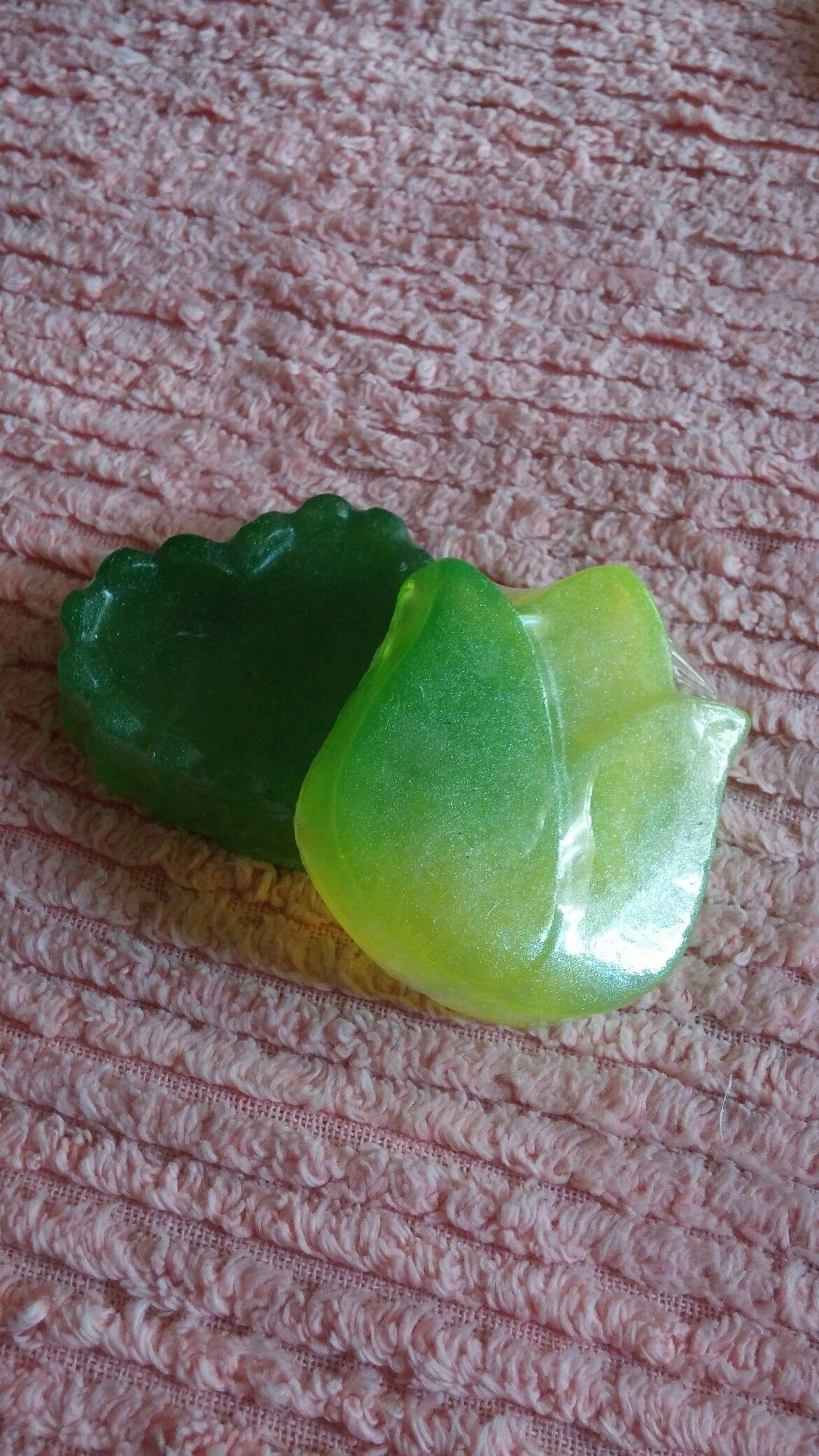 Jabones de glicerina de pera