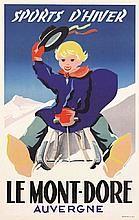 BOURGUIGNON R. Le Mont-Dore - Sports d'Hiver     vers 1950