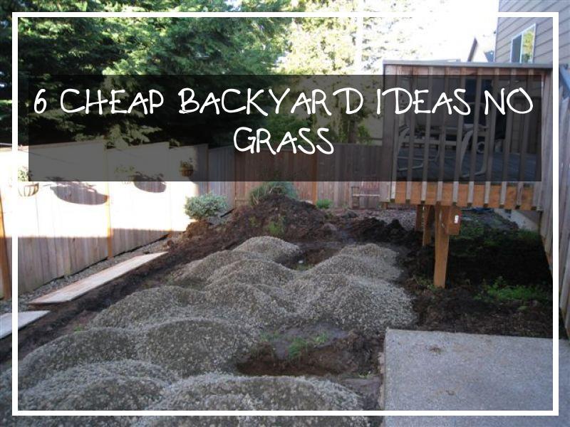 6 Cheap Backyard Ideas No Grass | Balloondir - Modern ... on Cheap No Grass Backyard Ideas  id=48869