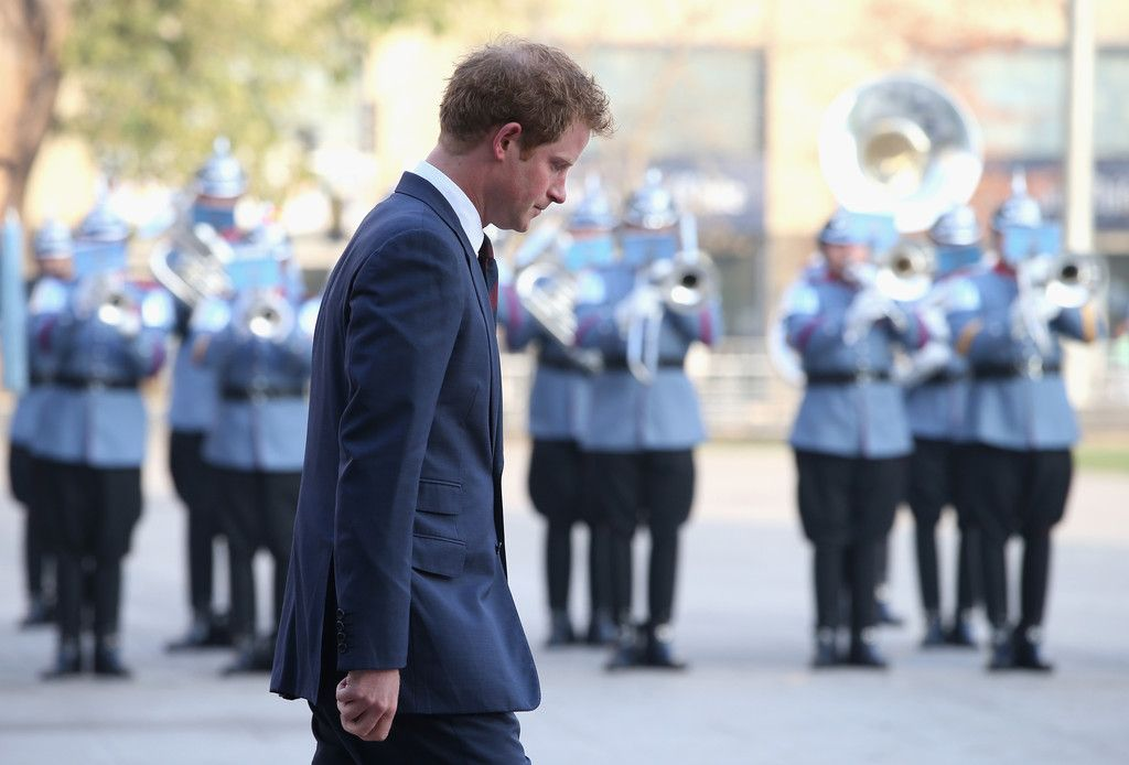 Prince Harry Photos: Prince Harry Visits Chile: Day 1