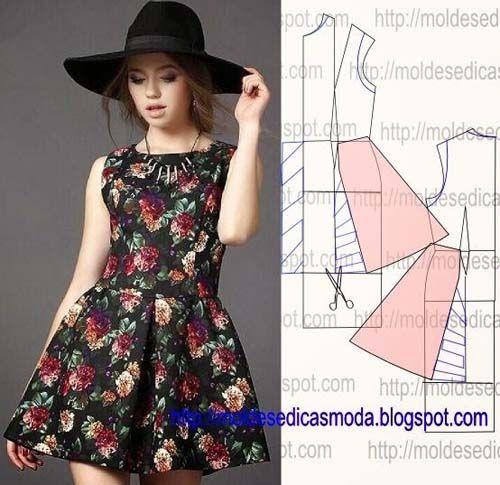 Como hacer vestidos bonitos y faciles