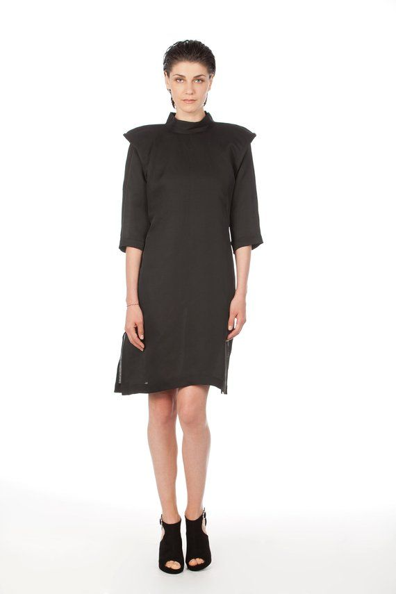 184992040f92 New Black Loose Dress