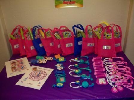 doctora juguetes fiestas recuerdos bolsas de regalos bolsas de regalo er cumpleaos ideas de la fiesta de cumpleaos partido del beb