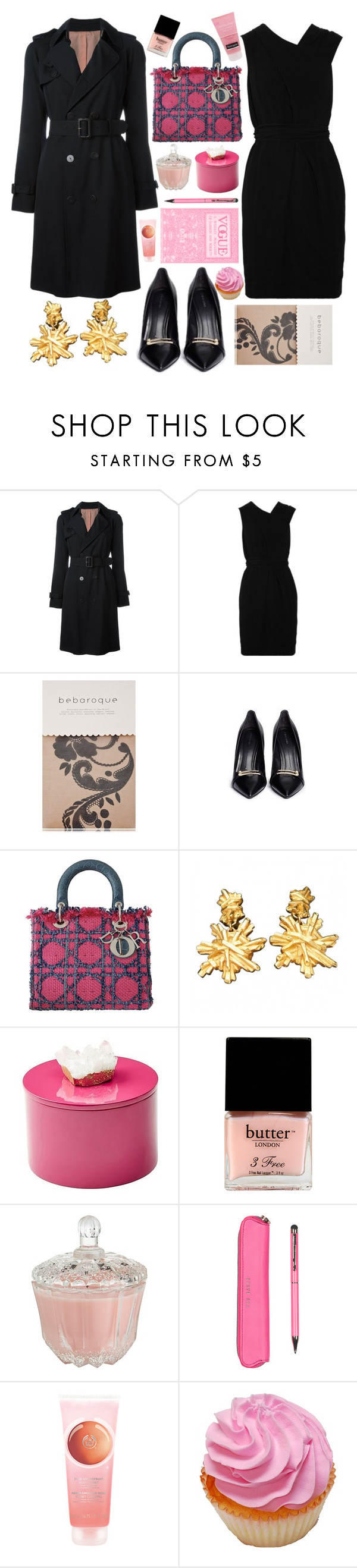 """Sin título #1241"" by meelstyle ❤ liked on Polyvore featuring Jean-Paul Gaultier, Yigal AzrouÃ«l, Bebaroque, Stella Luna, Christian Lacroix, Mapleton Drive, Butter London, Pier 1 Imports, Ted Baker and The Body Shop"