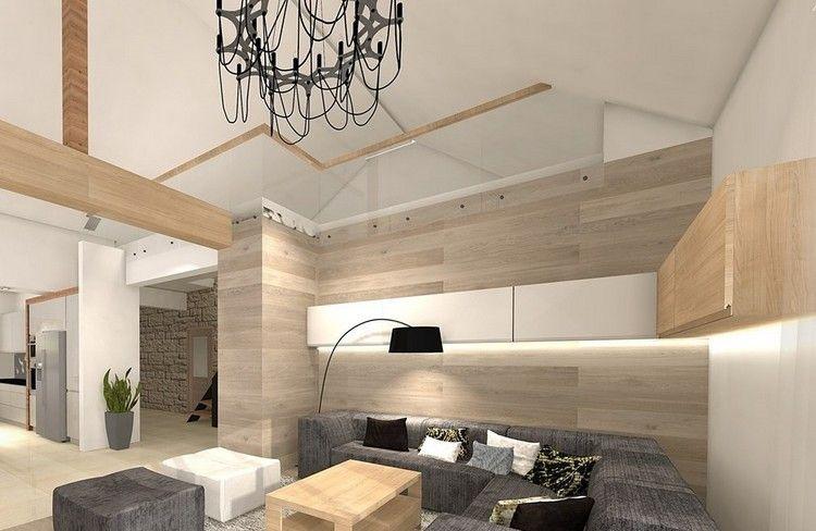 Wandgestaltung im Wohnzimmer \u2013 85 Ideen und moderne Beispiele - wandfarbe wohnzimmer beispiele