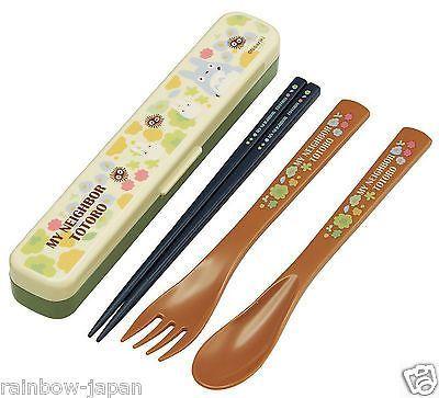 Studio Ghibli Kiki/'s Delivery Service Bento trio set chopsticks spoon fork set