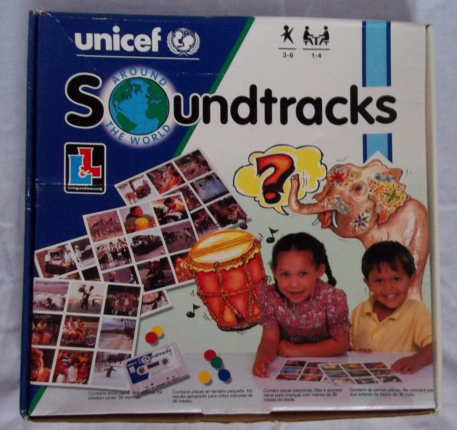 learning and living unicef soundtracks around the world game if