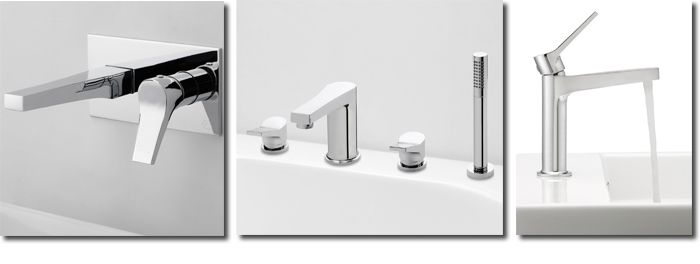 Afbeelding van Complete slanke en elegante kranenserie TWIT