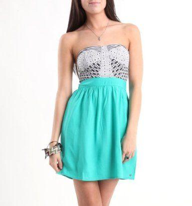 Amazon.com: O'Neill Juniors Wild Tribe Jersey Dress: Clothing
