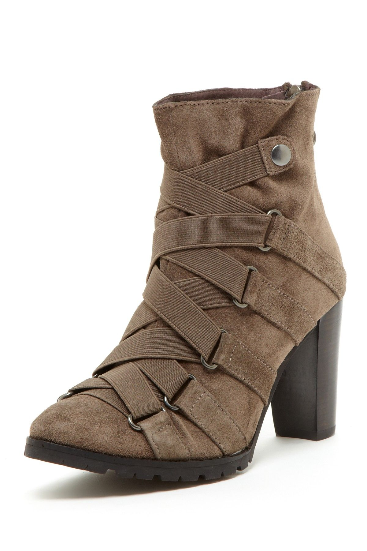 67147b9f96c5 Biviel Strappy Ankle Bootie New Shoes