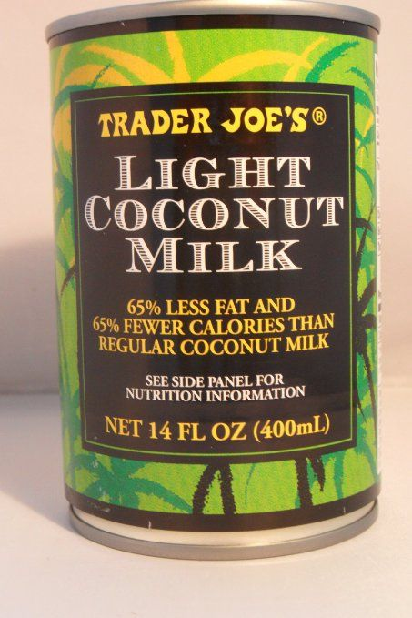 trader joe 39 s light coconut milk just coconut and water leap coconut recipes light coconut. Black Bedroom Furniture Sets. Home Design Ideas