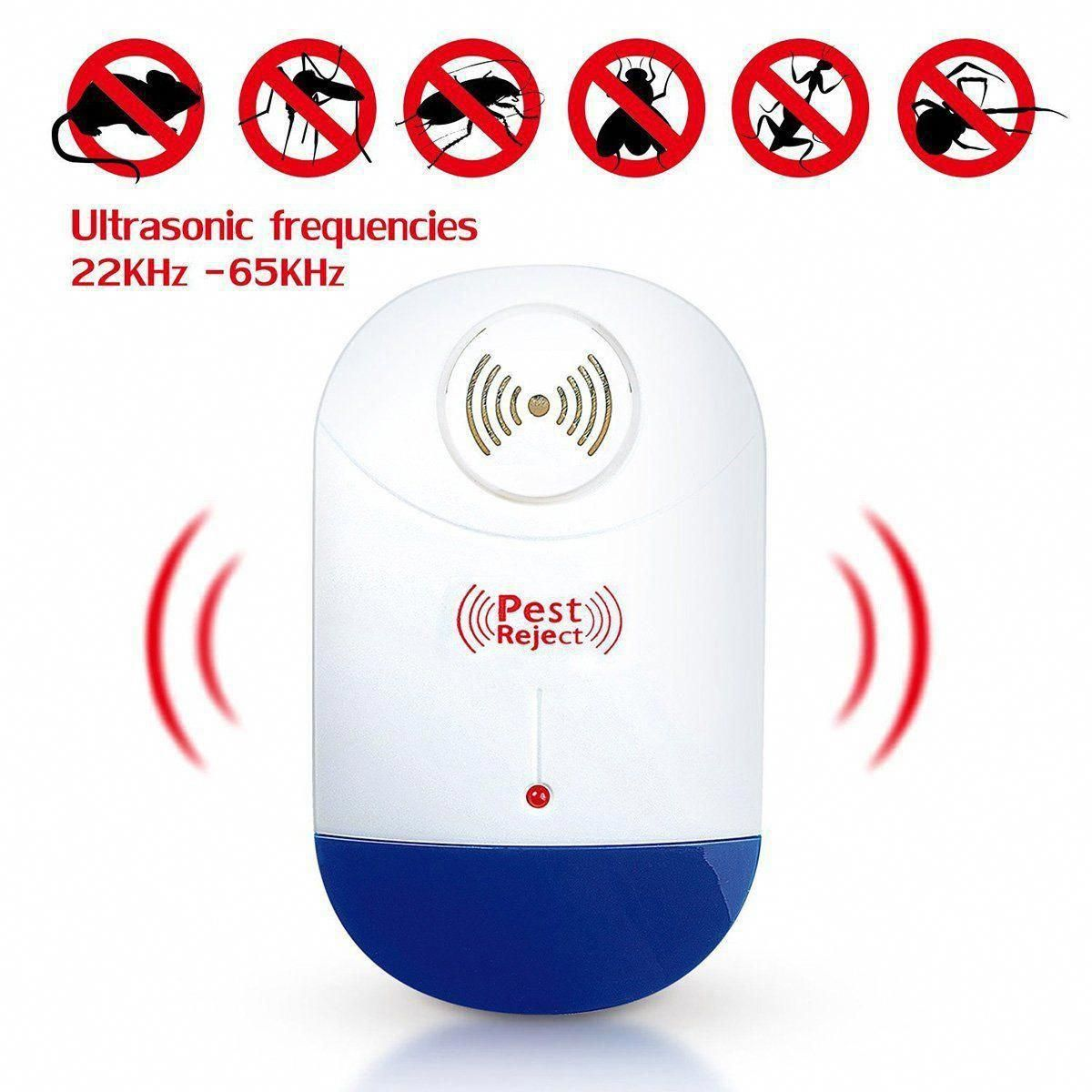 Ultrasonic Electronic Pest Repeller Mice Mosquitoes Pest