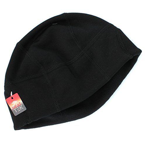 Tek Gear Black Stretch Beanie Winter Hat for Men- One Size Tek Gear http  238e7b70510e