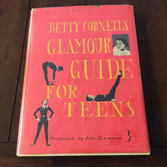 Betty Cornell S Glamour Guide For Teens Rare 1951 Etsy Books Hardcover Book Sale