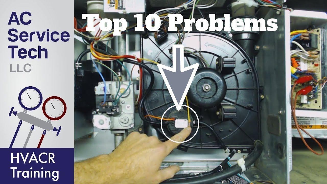 TOP 10 Gas Furnace, PRESSURE SWITCH Error Code Problems
