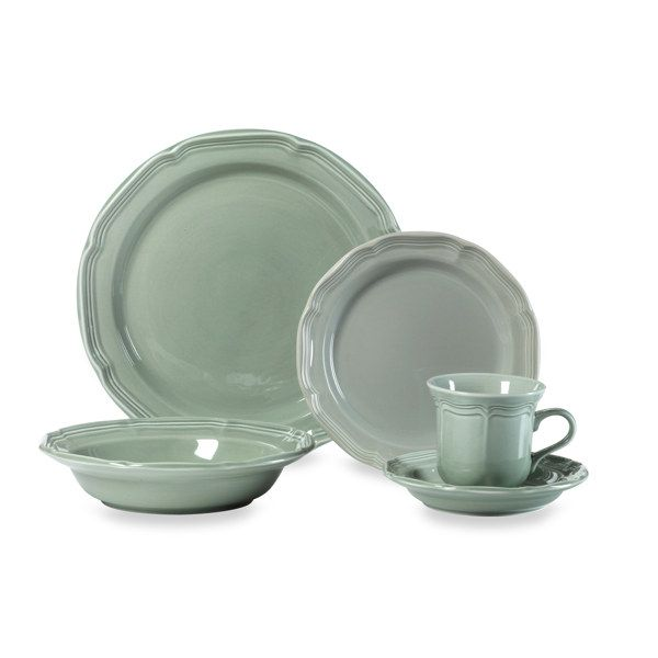 Mikasa French Countryside Sage 5-Piece Dinnerware Set - Bed Bath u0026 Beyond  sc 1 st  Pinterest & Mikasa French Countryside Sage 5-Piece Dinnerware Set - Bed Bath ...