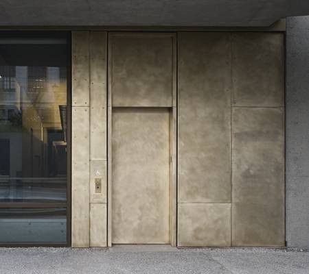 5 Good Reasons To Try A Brass Kitchen Cladding Exterior Cladding Metal Cladding