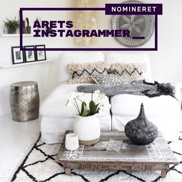 "I'm so lucky to be one of the finalists to become ""The instagrammer of the year 2016"" Please help me and vote for me 🙏🏼 You can find the link in my bio and find me under ""bolig"". Thank you xx  #åretsinstagrammer2016"