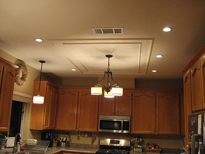 Removing a fluorescent kitchen light box to fix money and lighting - How to get your kitchen ceiling lights right ...