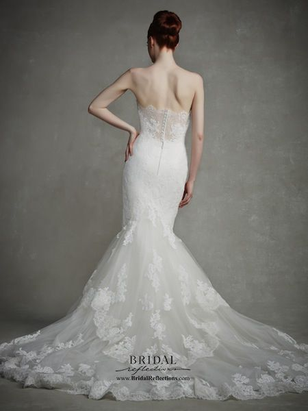 Enzoani Bridal Couture : Jodie (back)  http://www.bridalreflections.com/bridal-dress-designers/enzoani