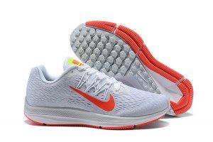3a8d8a5230c3e Womens Sneakers Nike Air Zoom Winflo 5 Pure Platinum White Wolf Grey Bright  Crimson AA7414 005