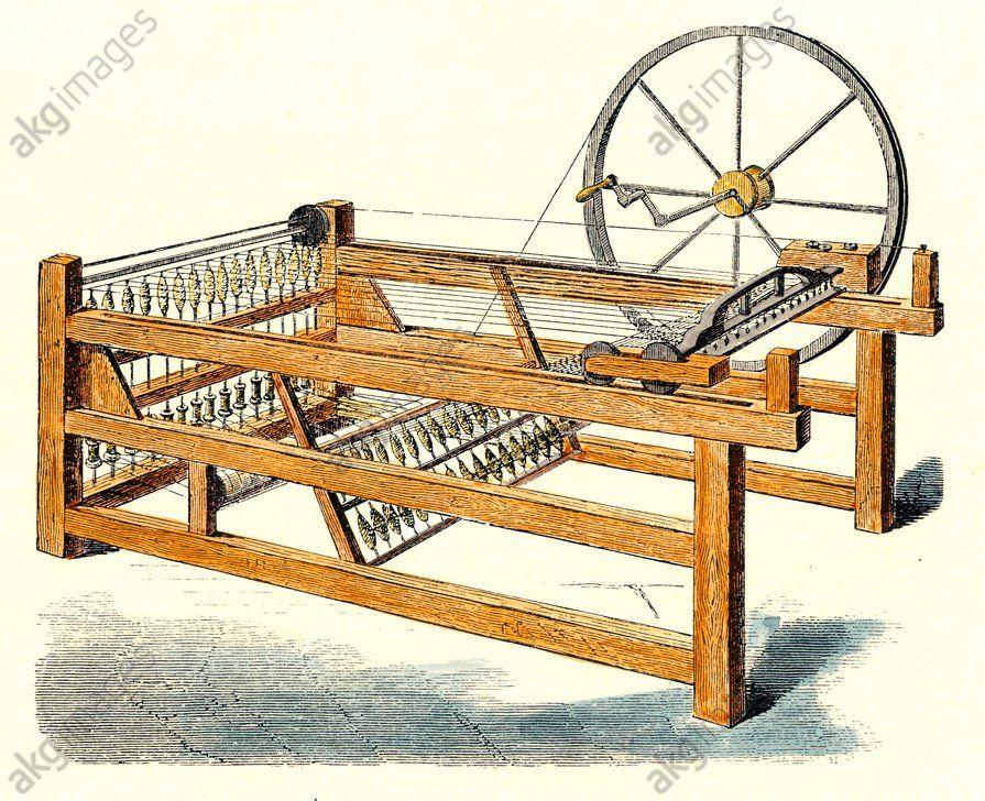 Image Result For Spinning Jenny Industrial Revolution