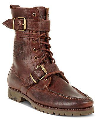 Ralph lauren boots, Mens shoes boots