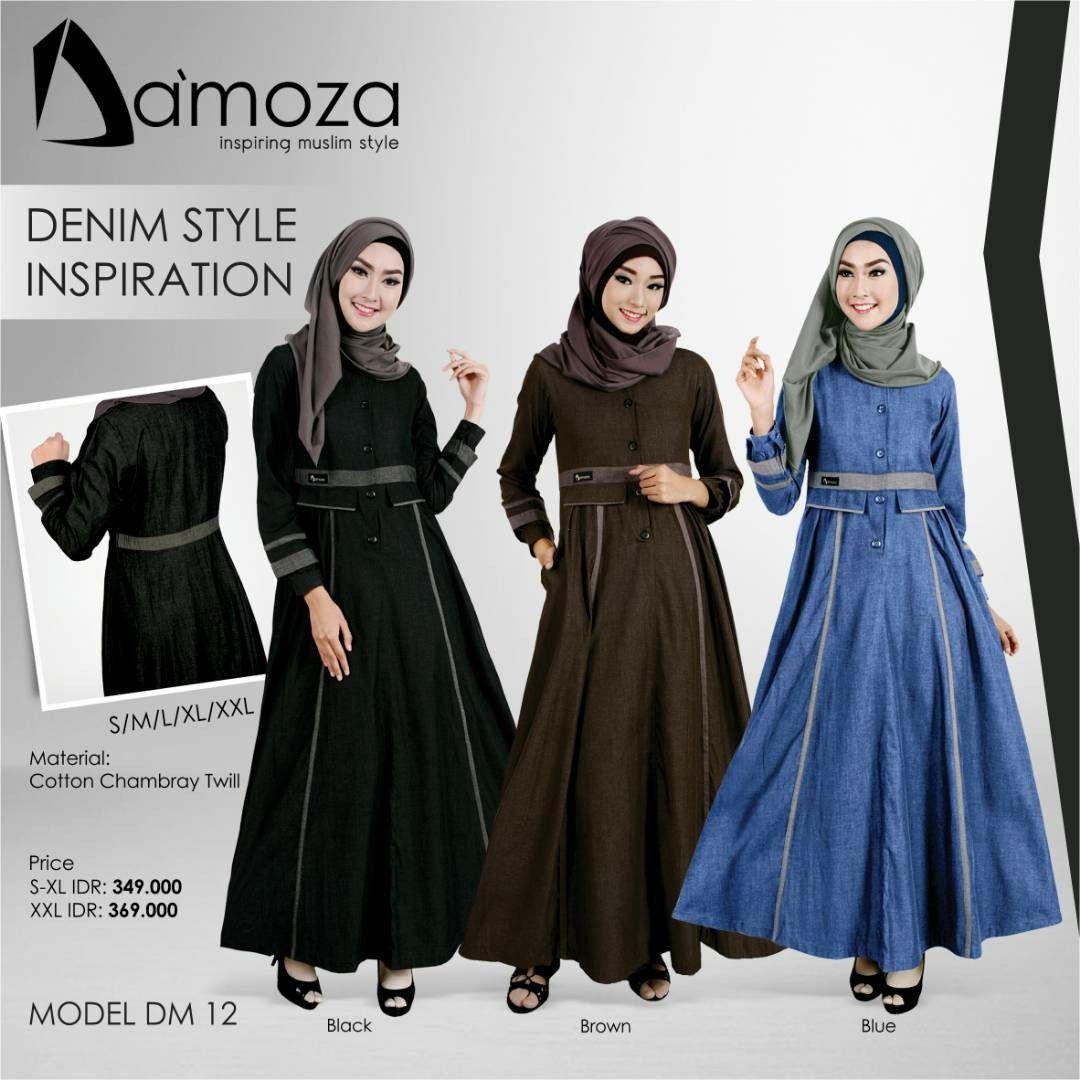 New Model Gamis Damoza 12 Gamis Muslim Dewasa Persembahan Damoza