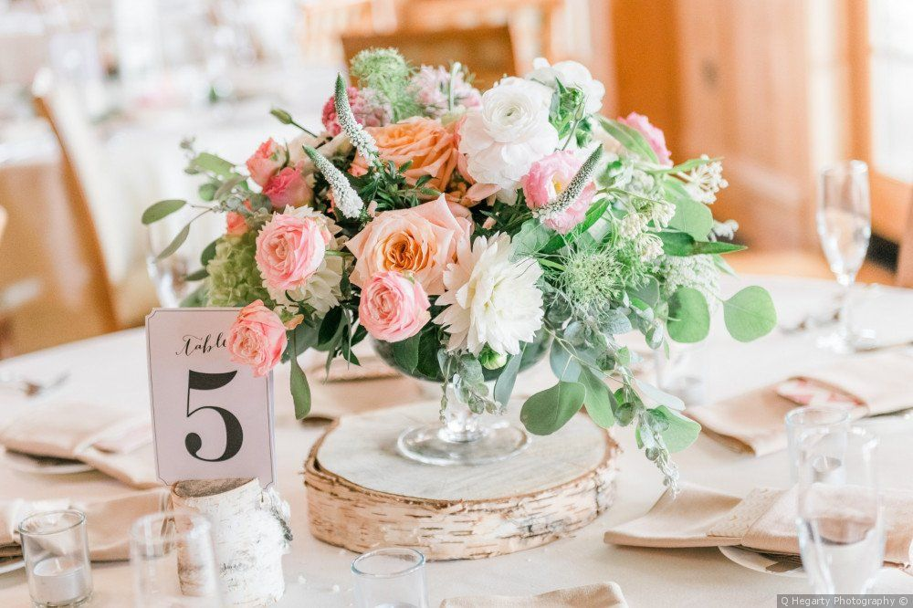 Wedding Flower Decorations Rustic Wedding Roses Wedding Table Centerpiece 8 Rustic Table Roses Rose Centerpiece Wedding Table Decor