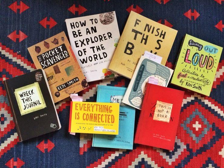 keri smith books - Google Search
