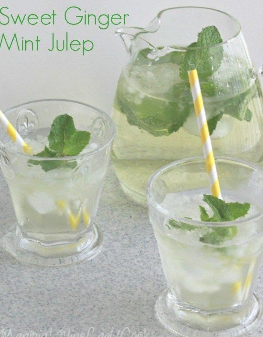How To Make Mint Julep Family Friendly #nonalcoholicsummerdrinks Mint Julep Fami…