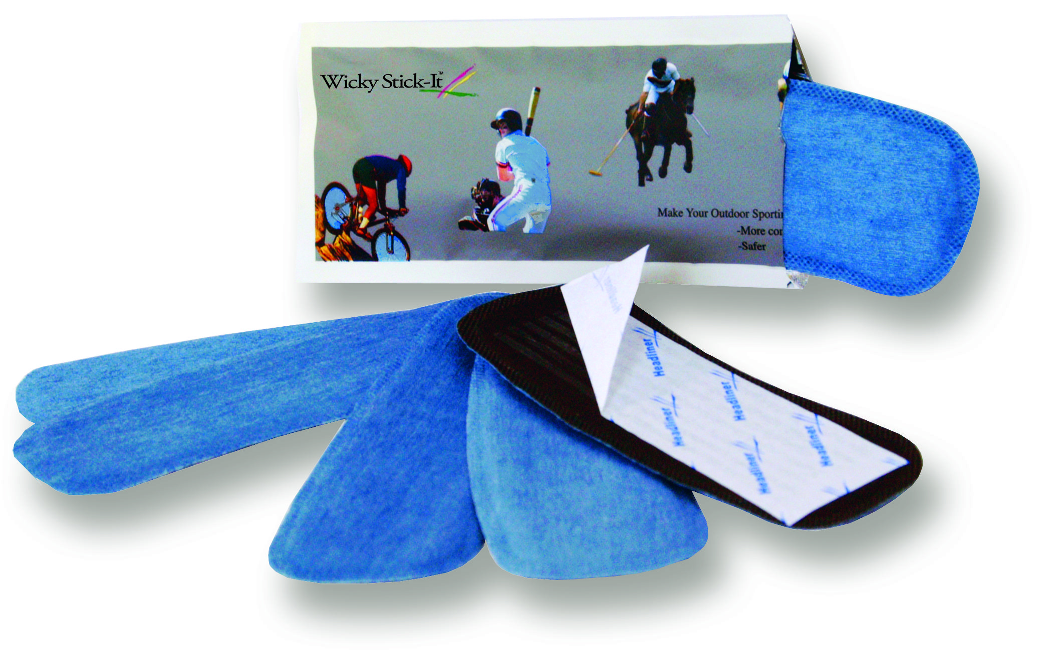Wicky Stick It Disposable Helmet Liners