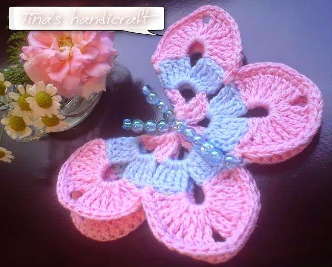 Tina's handicraft : butterflies