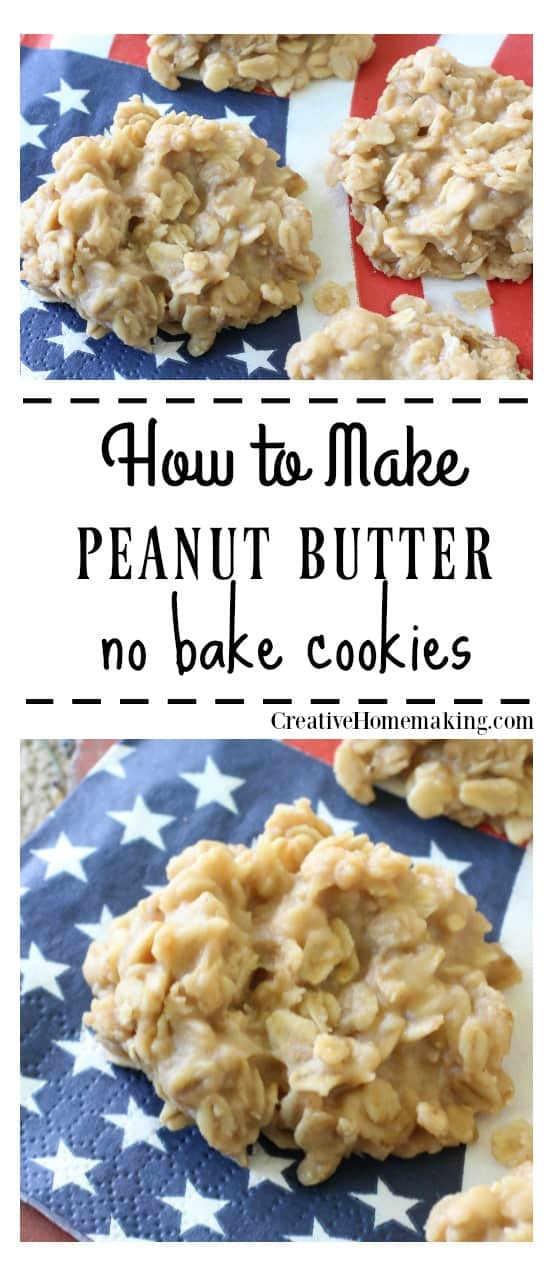 Peanut Butter No-Bake Cookies #favoriterecipes