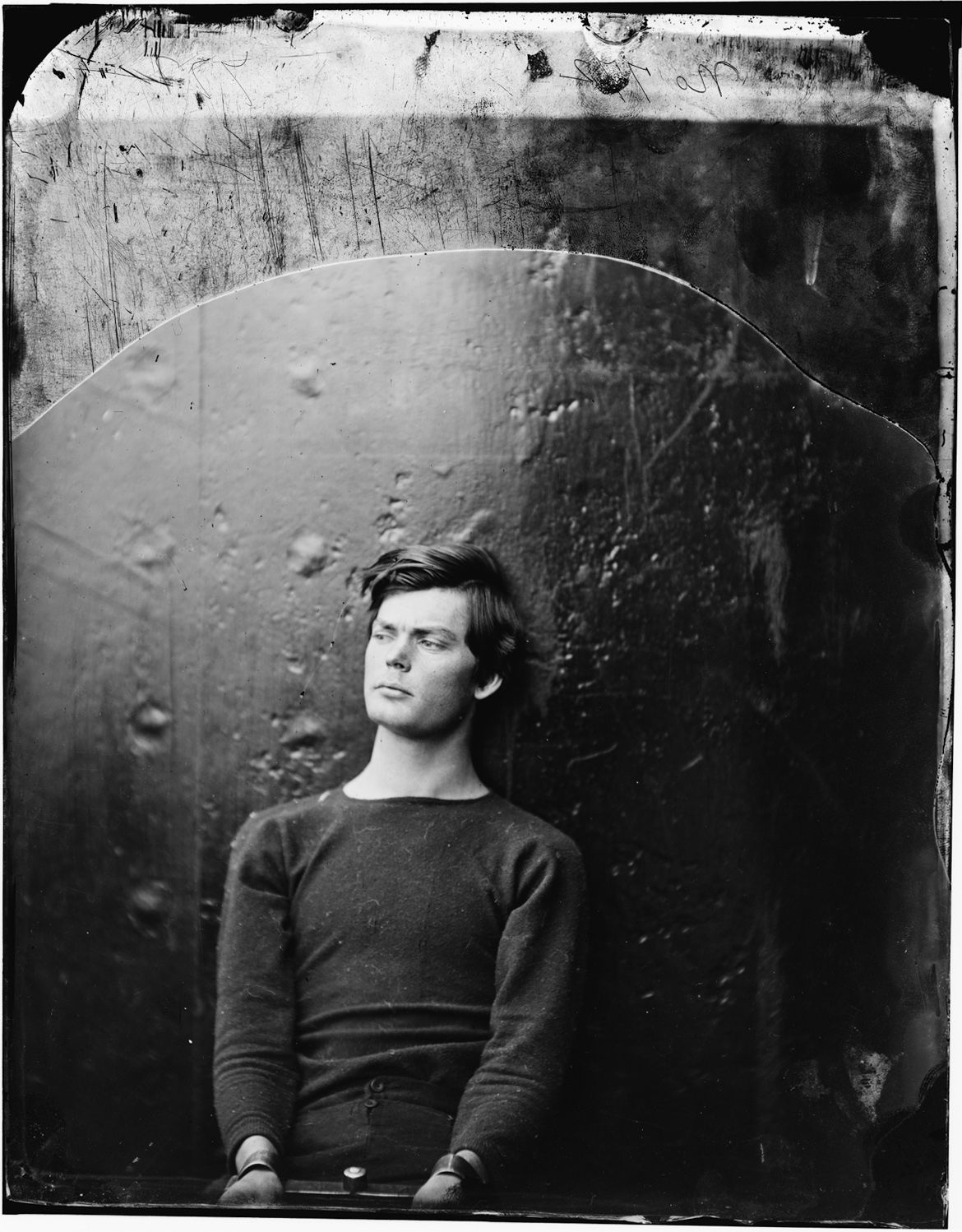 lewis thornton powell photographed by alexander gardner, april 1865.
