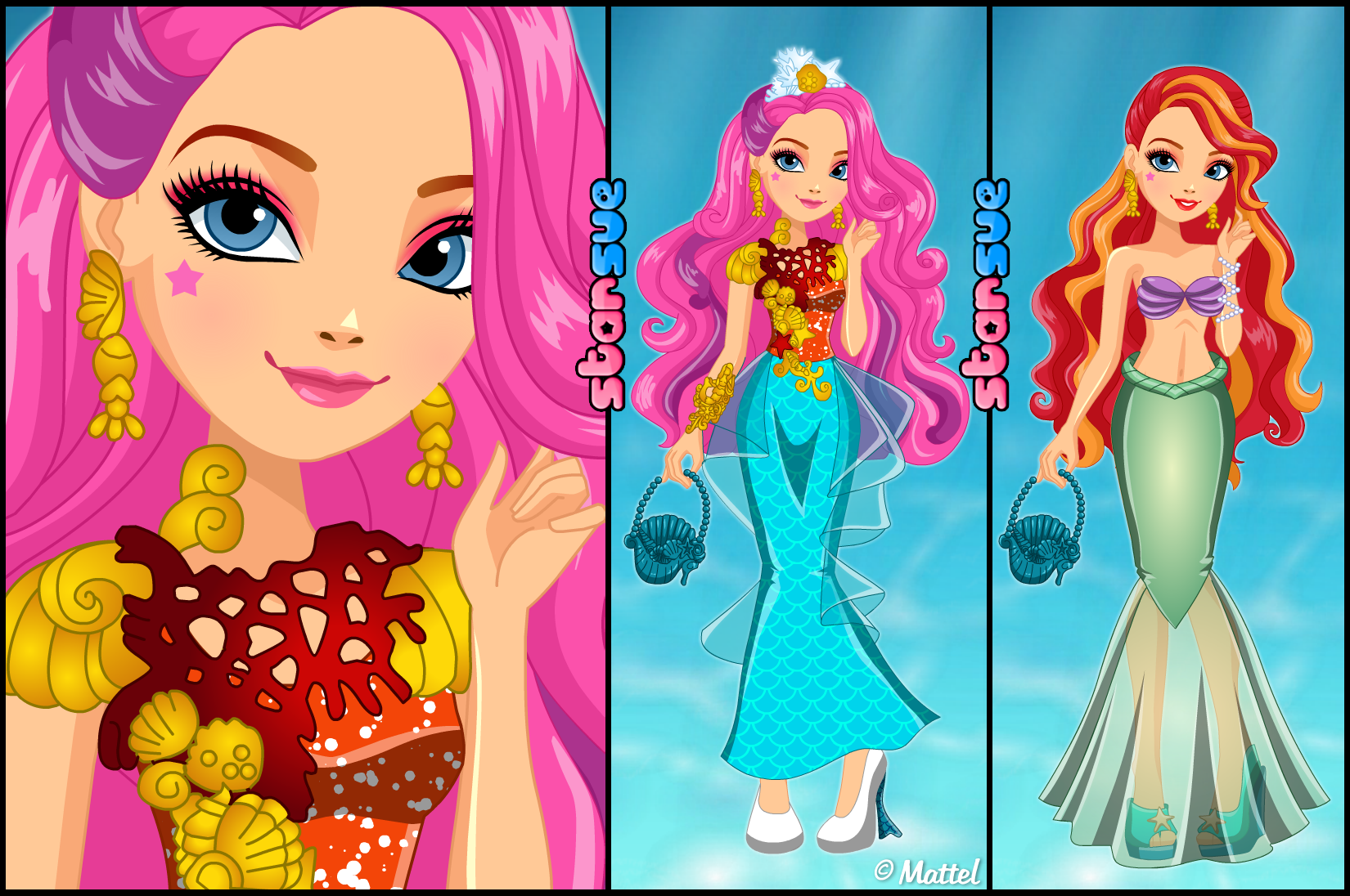 Ever After High Meeshell Mermaid Dress Up Game: http://www.starsue ...