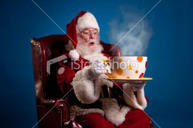 Santa Is Going Big Big Cup Of Coffee I Love Coffee Big Coffee