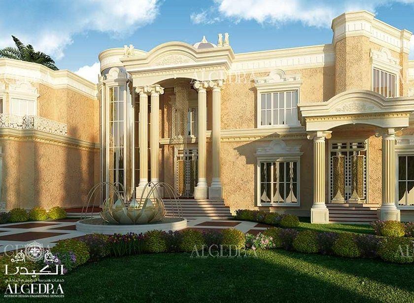 Beautiful Palace Exterior - Exterior Residential Design   ALGEDRA ...