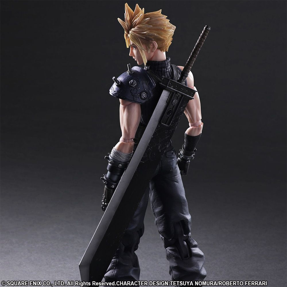 Final Fantasy Vii Remake Play Arts Kai Cloud Strife Final - Invoice format for services rendered square enix online store