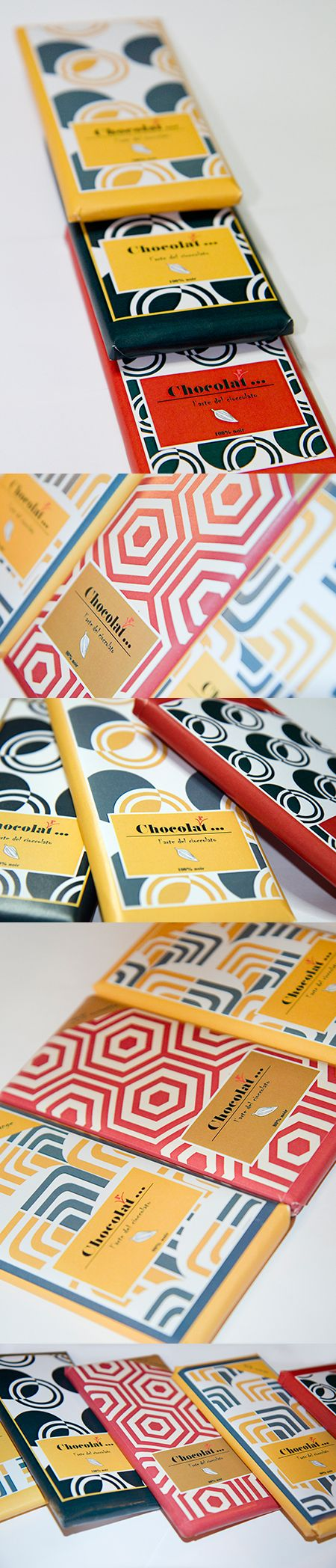 chocolate packaging  like the patterns and colors