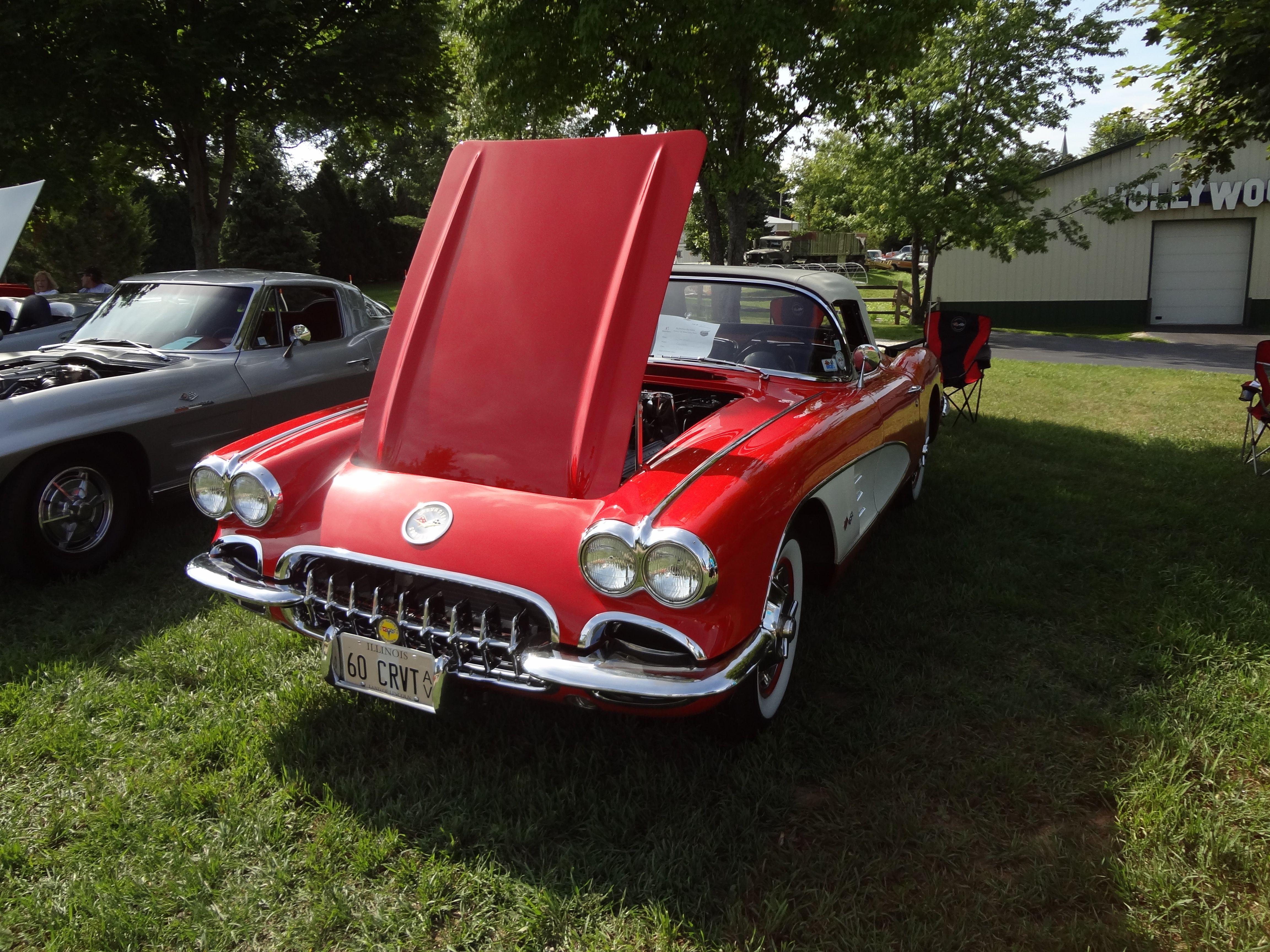 1960 Corvette at Volo Auto Museum car show. Volo, IL www.volocars ...