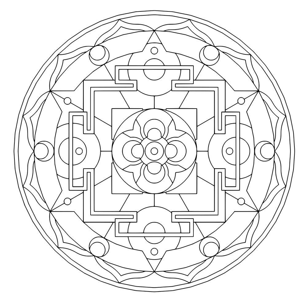 Sacred Geometry Coloring Pages - Bing Images   desenler   Pinterest ...
