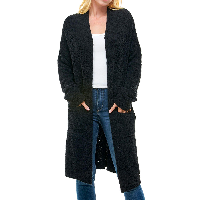 T S By Thread Supply Ladies Plush Cardigan Sam S Club In 2021 Cardigan Casual Wardrobe Thread Supply [ 1500 x 1500 Pixel ]