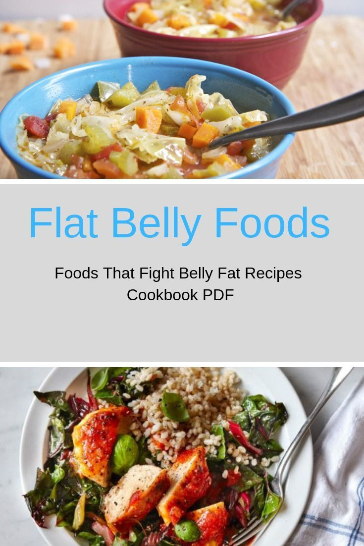 Flat Belly Foods: Foods That Fight Belly Fat PDF